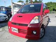 沖縄の中古車 スズキ MRワゴン 車両価格 19万円 リ済込 平成14年 12.1万K ブライトレッド2