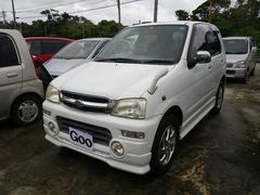 沖縄の中古車 ダイハツ テリオスキッド 車両価格 19万円 リ済込 平成12年 13.4万K ホワイト