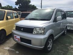 沖縄の中古車 三菱 eKワゴン 車両価格 19万円 リ済込 平成15年 10.4万K シルバー