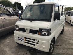 沖縄の中古車 日産 クリッパーバン 車両価格 35万円 リ済込 平成23年 16.4万K ホワイト