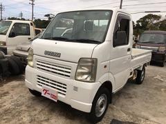 沖縄の中古車 スズキ キャリイトラック 車両価格 35万円 リ済込 平成14年 17.1万K ホワイト