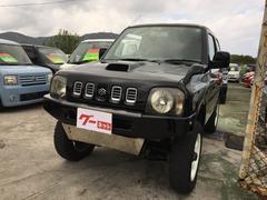 沖縄の中古車 スズキ ジムニー 車両価格 30万円 リ済込 平成11年 15.4万K ブラック