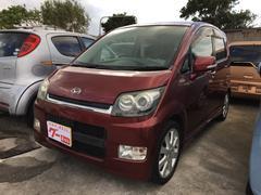 沖縄の中古車 ダイハツ ムーヴ 車両価格 35万円 リ済込 平成19年 11.4万K ワイン
