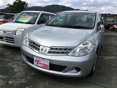 沖縄の中古車 日産 ティーダラティオ 車両価格 43万円 リ済込 平成22年 2.4万K シルバーM