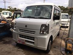 沖縄の中古車 スズキ エブリイ 車両価格 29万円 リ済込 平成18年 8.9万K ホワイト
