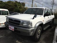 沖縄の中古車 マツダ プロシードマービー 車両価格 28万円 リ済込 平成10年 15.6万K ホワイトII