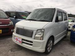 沖縄の中古車 スズキ ワゴンR 車両価格 23万円 リ済込 平成17年 13.9万K パールホワイト