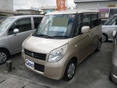 沖縄の中古車 スズキ パレット 車両価格 46万円 リ済込 平成20年 9.0万K シャンパンゴールド