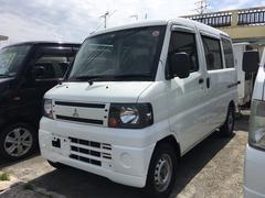 沖縄の中古車 三菱 ミニキャブバン 車両価格 35万円 リ済込 平成23年 13.8万K ホワイト