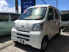 沖縄の中古車 ダイハツ ハイゼットカーゴ 車両価格 43万円 リ済込 平成23年 11.1万K ホワイト