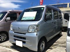 沖縄の中古車 ダイハツ ハイゼットカーゴ 車両価格 45万円 リ済込 平成20年 15.4万K シルバー