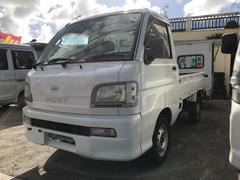 沖縄の中古車 ダイハツ ハイゼットトラック 車両価格 35万円 リ済込 平成15年 9.7万K ホワイト