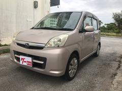 沖縄の中古車 スバル ステラ 車両価格 15万円 リ済込 平成19年 5.5万K ピンク