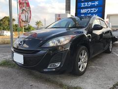 沖縄の中古車 マツダ アクセラスポーツ 車両価格 65万円 リ済込 平成22年 10.6万K ブラック