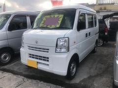 沖縄の中古車 スズキ エブリイ 車両価格 39万円 リ済込 平成22年 14.2万K ホワイト