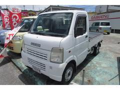 沖縄の中古車 スズキ キャリイトラック 車両価格 27万円 リ済込 平成15年 10.8万K ホワイト
