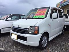沖縄の中古車 スズキ ワゴンR 車両価格 14万円 リ済込 平成13年 16.8万K パールホワイト