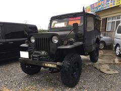 沖縄の中古車 三菱 ジープ 車両価格 49万円 リ済込 平成1年 10.9万K DグリーンM