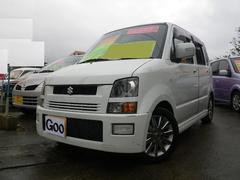 沖縄の中古車 スズキ ワゴンR 車両価格 50万円 リ済込 平成17年 8.3万K パールホワイト