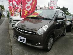 沖縄の中古車 スバル R2 車両価格 30万円 リ済別 平成20年 8.9万K ブラウン