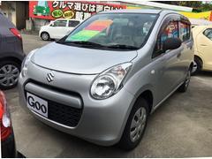 沖縄の中古車 スズキ アルト 車両価格 ASK リ済別 平成24年 6.8万K シルバー
