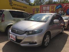 沖縄の中古車 ホンダ インサイト 車両価格 70万円 リ済別 平成21年 7.1万K シルバー