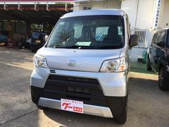 沖縄の中古車 ダイハツ ハイゼットカーゴ 車両価格 109.1万円 リ未 新車  シルバー