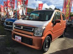 沖縄の中古車 スズキ ワゴンR 車両価格 117.8万円 リ未 新車  オレンジ