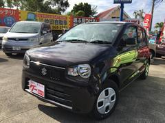 沖縄の中古車 スズキ アルト 車両価格 89.5万円 リ未 新車  ブラウン