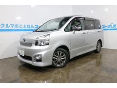 沖縄の中古車 トヨタ ヴォクシー 車両価格 99万円 リ済別 平成22年 12.5万K シルバーメタリック