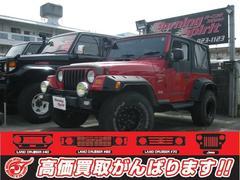 沖縄の中古車 クライスラー・ジープ クライスラージープ ラングラー 車両価格 98万円 リ済別 2000年 9.8万K レッド