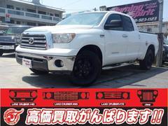 沖縄の中古車 米国トヨタ タンドラ 車両価格 239万円 リ済別 2008年 走不明 ホワイト
