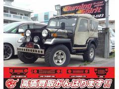 沖縄の中古車 三菱 ジープ 車両価格 65万円 リ済別 平成1年 11.5万K ブラック