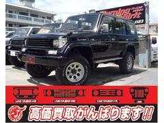 沖縄の中古車 トヨタ ランドクルーザープラド 車両価格 139万円 リ済別 平成8年 18.4万K ブラック
