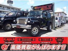 沖縄の中古車 クライスラー・ジープ クライスラージープ ラングラー 車両価格 89万円 リ済別 1997年 11.7万K ブラック