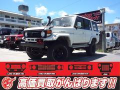 沖縄の中古車 トヨタ ランドクルーザー70 車両価格 169万円 リ済別 平成5年 27.2万K ホワイト
