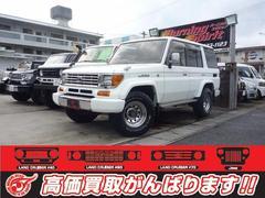 沖縄の中古車 トヨタ ランドクルーザープラド 車両価格 139万円 リ済別 平成5年 24.0万K ホワイト