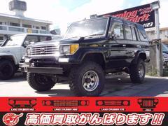 沖縄の中古車 トヨタ ランドクルーザープラド 車両価格 139万円 リ済別 平成5年 22.0万K ブラック