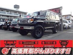 沖縄の中古車 トヨタ ランドクルーザー70 車両価格 185万円 リ済別 平成4年 25.0万K ブラック