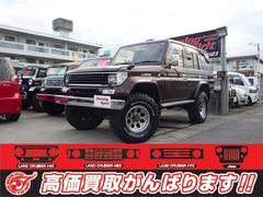 沖縄の中古車 トヨタ ランドクルーザープラド 車両価格 139万円 リ済別 平成6年 23.0万K DブラウンM