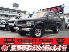 沖縄の中古車 トヨタ ランドクルーザー60 車両価格 139万円 リ済別 平成1年 25.0万K ブラック