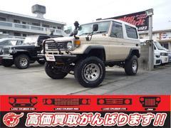沖縄の中古車 トヨタ ランドクルーザー70 車両価格 169万円 リ済別 平成2年 26.6万K ベージュ
