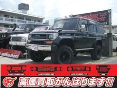 沖縄の中古車 トヨタ ランドクルーザープラド 車両価格 145万円 リ済別 平成7年 21.0万K ブラック