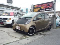 沖縄の中古車 三菱 アイ 車両価格 34万円 リ済込 平成21年 11.5万K ゴールド