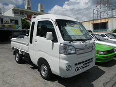 沖縄の中古車 ダイハツ ハイゼットトラック 車両価格 112万円 リ済込 新車  ホワイト