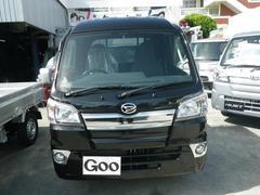 沖縄の中古車 ダイハツ ハイゼットトラック 車両価格 103万円 リ未 新車  ブラック