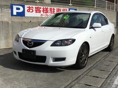 沖縄の中古車 マツダ アクセラ 車両価格 28万円 リ済込 平成18年 10.0万K パール