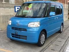 沖縄の中古車 ダイハツ タント 車両価格 57万円 リ済込 平成21年 7.2万K ブルー