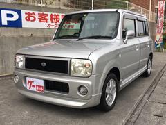 沖縄の中古車 スズキ アルトラパン 車両価格 29万円 リ済込 平成15年 9.3万K シルバー