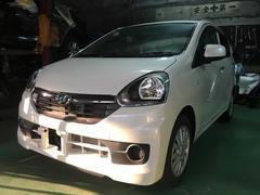 沖縄の中古車 ダイハツ ミライース 車両価格 105万円 リ済込 平成28年 5K パールホワイト